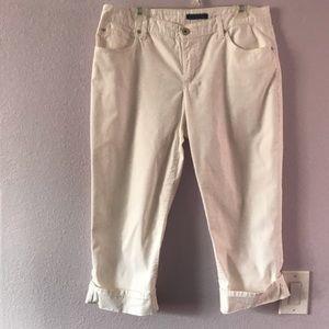 White Bandolino cotton pants